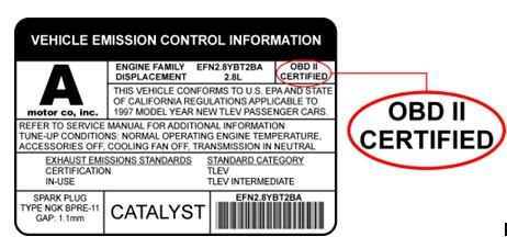 OBDII certified